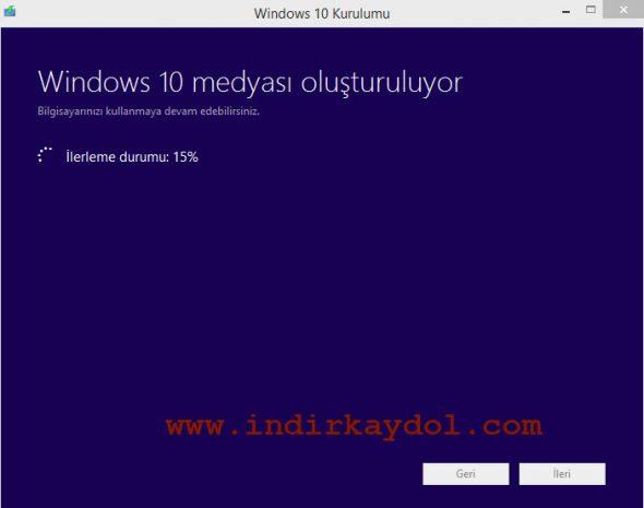 Windows 10 Lisans Anlaşması