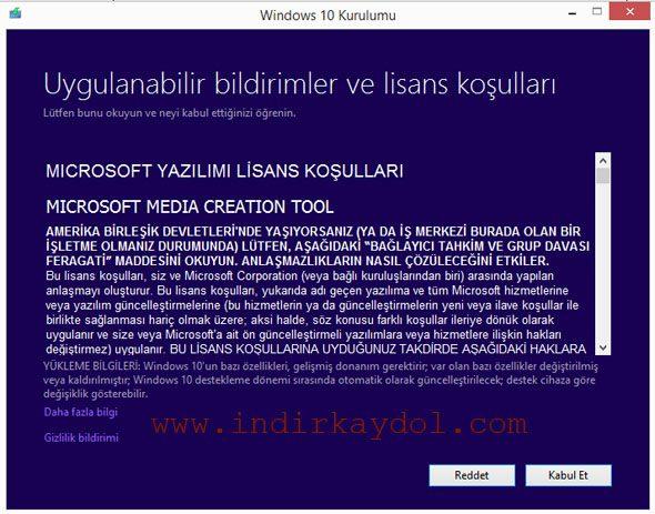 Microsoft Lisans Sözleşmesi