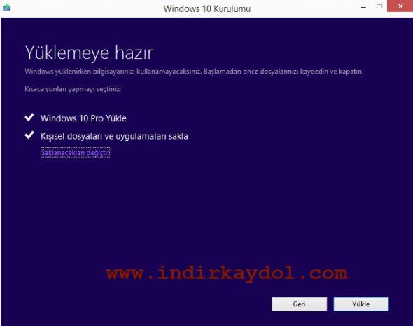 Windows 10 Nasıl Kurulur