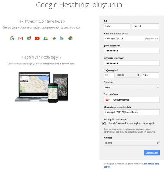 gmail-kaydol